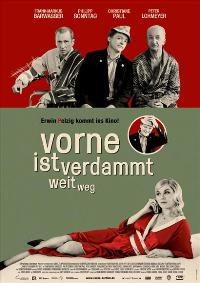 Vorne ist verdammt weit weg - 11 x 17 Movie Poster - Danish Style B