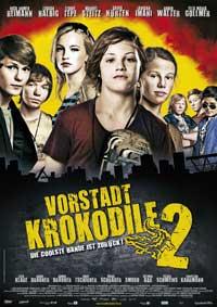 Vorstadtkrokodile 2 - 11 x 17 Movie Poster - German Style A