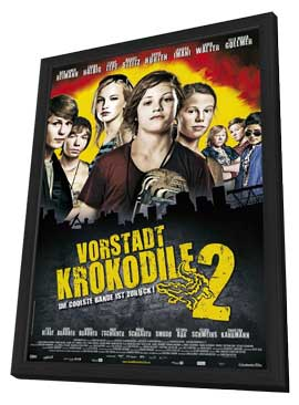 Vorstadtkrokodile 2 - 11 x 17 Movie Poster - German Style A - in Deluxe Wood Frame