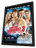 Vorstadtkrokodile 3 - 11 x 17 Movie Poster - Swedish Style A - in Deluxe Wood Frame