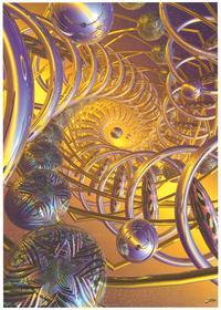 Vortex - Art Poster - 24 x 36 - Style A
