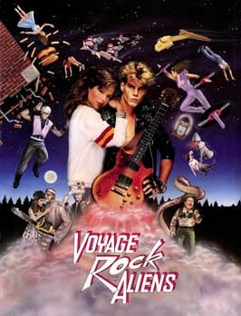 Voyage of the Rock Aliens - 11 x 17 Movie Poster - Style A