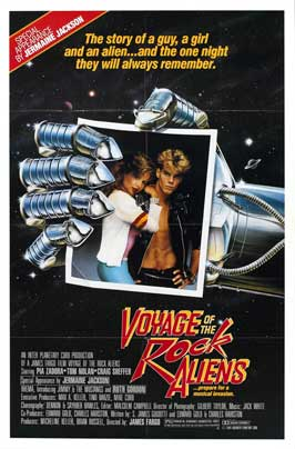 Voyage of the Rock Aliens - 27 x 40 Movie Poster - Style B