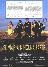 Voyage to Nowhere - 11 x 17 Movie Poster - Spanish Style A