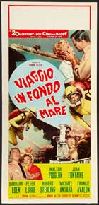 Voyage to the Bottom of the Sea - 13 x 28 Movie Poster - Italian Style A