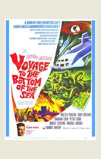 Voyage to the Bottom of the Sea - 11 x 17 Movie Poster - Style B