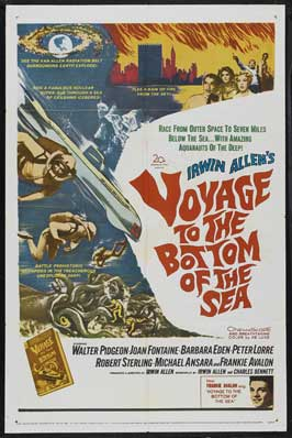 Voyage to the Bottom of the Sea - 11 x 17 Movie Poster - Style G