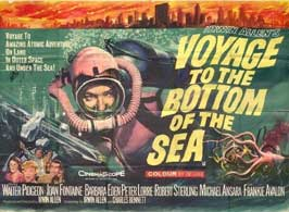 Voyage to the Bottom of the Sea - 11 x 17 Movie Poster - UK Style A