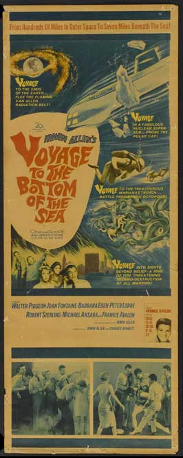 Voyage to the Bottom of the Sea - 14 x 36 Movie Poster - Insert Style A
