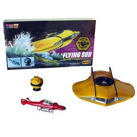Voyage to the Bottom of the Sea - Flying Sub Mini Model Kits