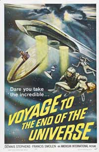 Voyage to the End of the Universe - 11 x 17 Movie Poster - Style A