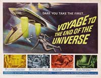 Voyage to the End of the Universe - 22 x 28 Movie Poster - Style A