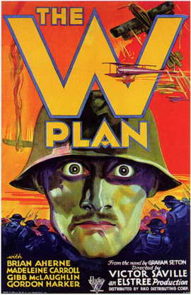 W Plan - 11 x 17 Movie Poster - Style A