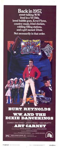 W W and the Dixie Dancekings - 11 x 17 Movie Poster - Style B