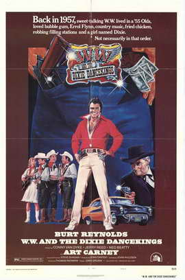 W W and the Dixie Dancekings - 11 x 17 Movie Poster - Style D