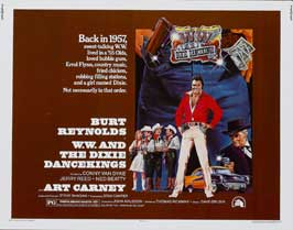 W W and the Dixie Dancekings - 22 x 28 Movie Poster - Half Sheet Style A