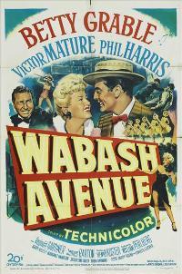 Wabash Avenue - 27 x 40 Movie Poster - Style B