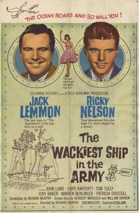 Wackiest Ship in the Army - 11 x 17 Movie Poster - Style A