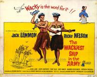 Wackiest Ship in the Army - 22 x 28 Movie Poster - Half Sheet Style B