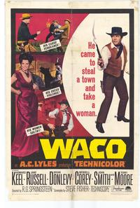 Waco - 27 x 40 Movie Poster - Style A