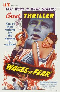 Wages of Fear - 11 x 17 Movie Poster - Style B