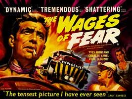 Wages of Fear - 30 x 40 Movie Poster UK - Style A