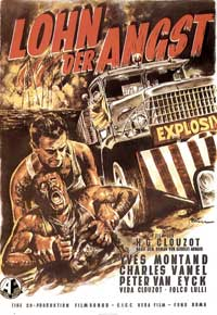 Wages of Fear - 11 x 17 Movie Poster - German Style A