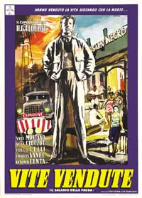 Wages of Fear - 11 x 17 Movie Poster - Italian Style A