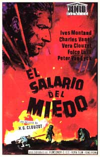 Wages of Fear - 11 x 17 Movie Poster - Spanish Style A