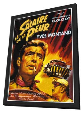 Wages of Fear - 11 x 17 Movie Poster - French Style C - in Deluxe Wood Frame