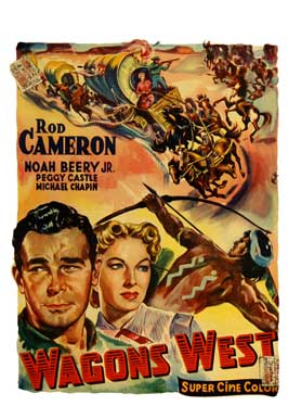 Wagons West - 11 x 17 Movie Poster - Belgian Style A