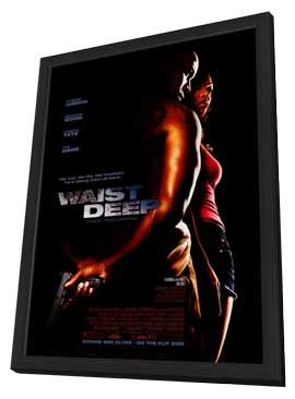 Waist Deep - 27 x 40 Movie Poster - Style A - in Deluxe Wood Frame