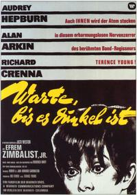 Wait until Dark - 11 x 17 Movie Poster - German Style A