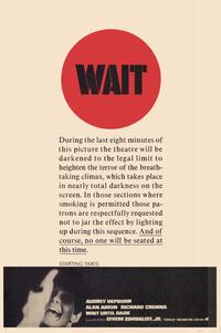 Wait until Dark - 11 x 17 Movie Poster - Style B