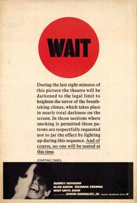 Wait until Dark - 27 x 40 Movie Poster - Style B