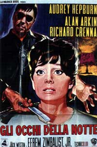 Wait until Dark - 11 x 17 Movie Poster - Italian Style A