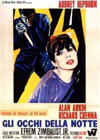 Wait until Dark - 11 x 17 Movie Poster - Italian Style B