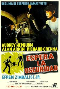 Wait until Dark - 11 x 17 Movie Poster - Spanish Style A