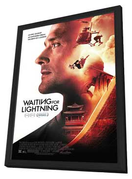 Waiting for Lightning - 11 x 17 Movie Poster - Style A - in Deluxe Wood Frame