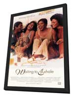 Waiting to Exhale - 27 x 40 Movie Poster - Style A - in Deluxe Wood Frame