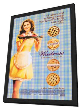 Waitress - 11 x 17 Movie Poster - Style A - in Deluxe Wood Frame