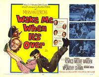 Wake Me When Its Over - 22 x 28 Movie Poster - Half Sheet Style A