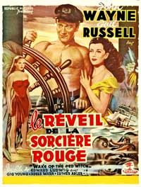 Wake of the Red Witch - 27 x 40 Movie Poster - French Style A