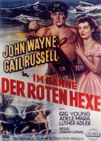 Wake of the Red Witch - 11 x 17 Movie Poster - German Style A