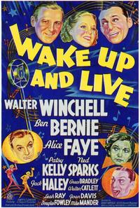 Wake Up and Live - 43 x 62 Movie Poster - Bus Shelter Style A