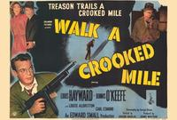 Walk a Crooked Mile - 22 x 28 Movie Poster - Half Sheet Style A