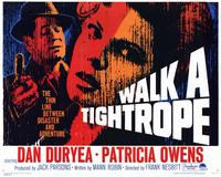 Walk a Tightrope - 11 x 14 Movie Poster - Style A