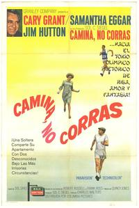 Walk, Don't Run - 11 x 17 Movie Poster - Spanish Style A
