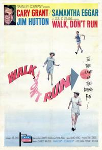 Walk, Don't Run - 11 x 17 Movie Poster - Style A