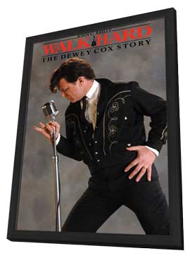 Walk Hard: The Dewey Cox Story - 27 x 40 Movie Poster - Style B - in Deluxe Wood Frame